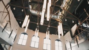 phoenixville foundry industrial venue ceiling