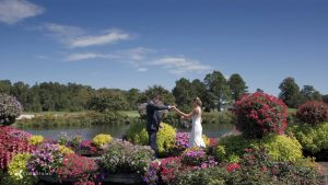 villages at herring creek clubhouse wedding photos